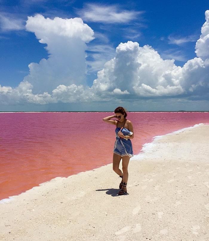 Mexico's pink lagoon 3