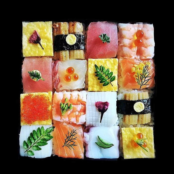 Mosaic Sushi 5