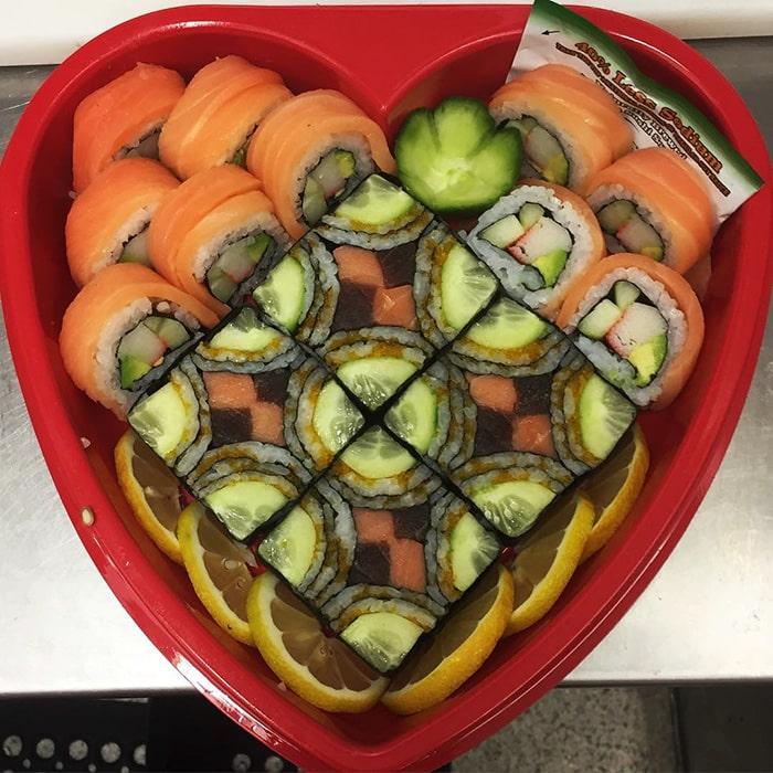 Mosaic Sushi 6