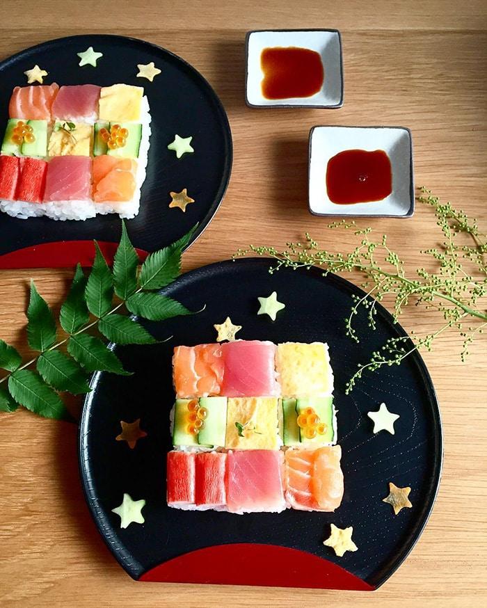 Mosaic Sushi 8