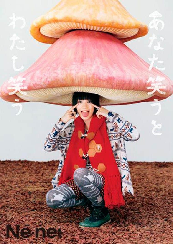 champignons bizarres