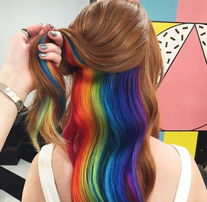 cheveux ar en ciel 4