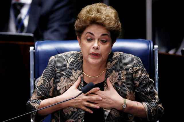 Dilma Rousseff destituée — Brésil