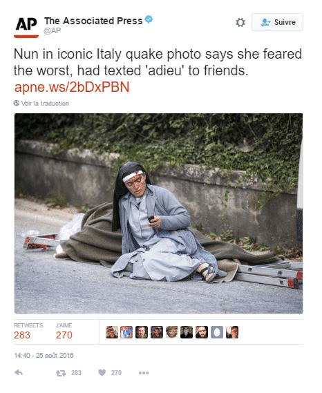 nonne italie sms