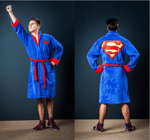 peignoir superman cadeaux en folie