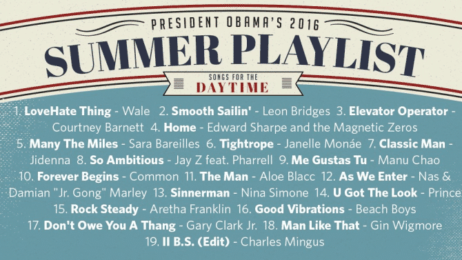 playlist obama
