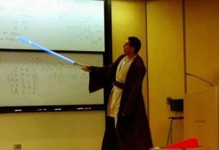 prof star wars