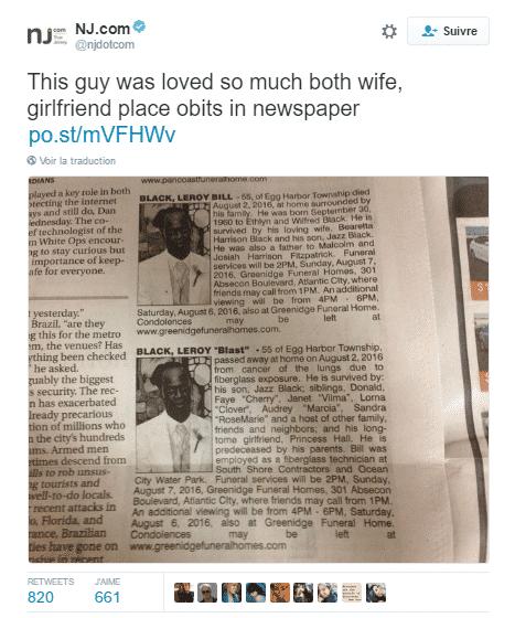twitter avis deces