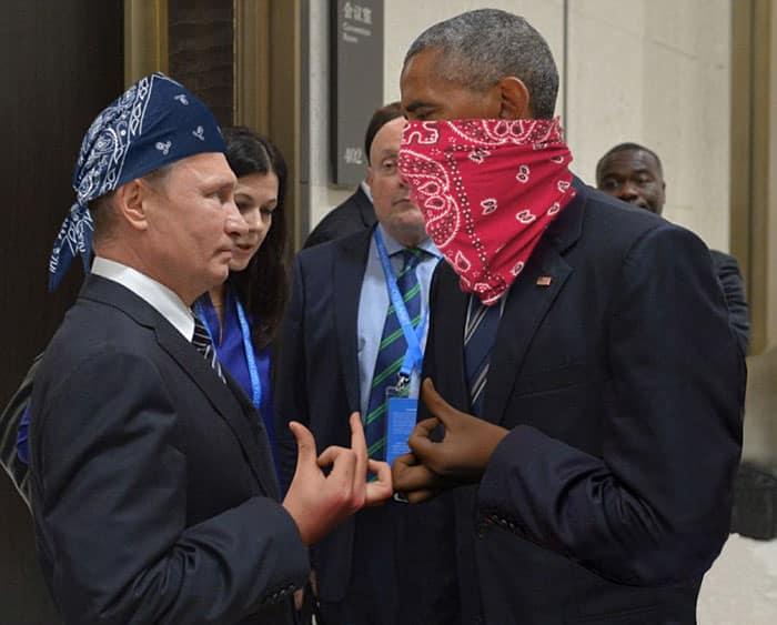 Poutine et Obama 0