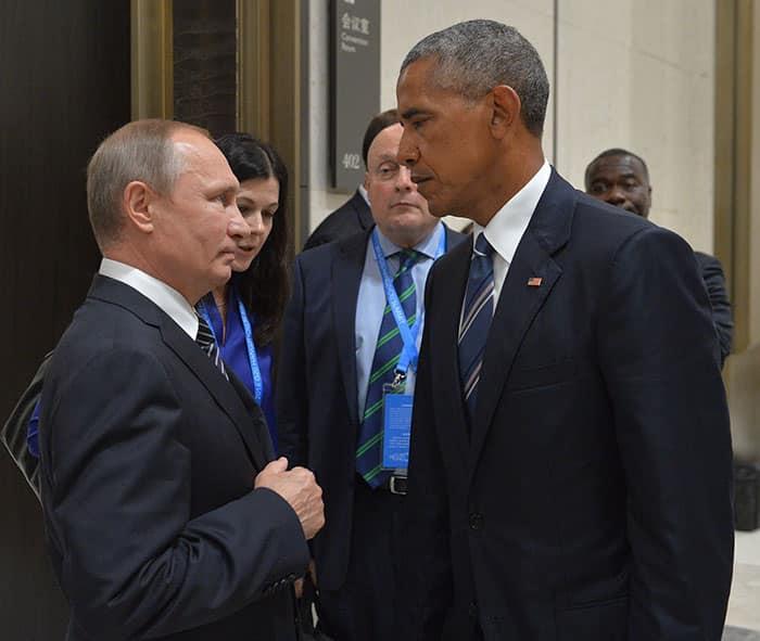 Poutine et Obama 1