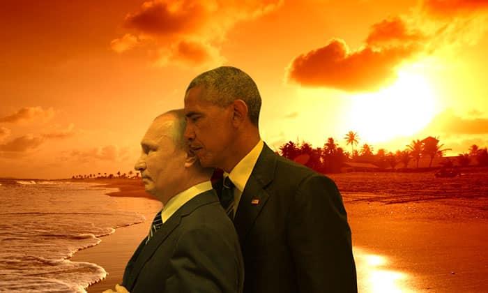 Poutine et Obama 2