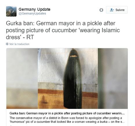 concombre burqa tweet
