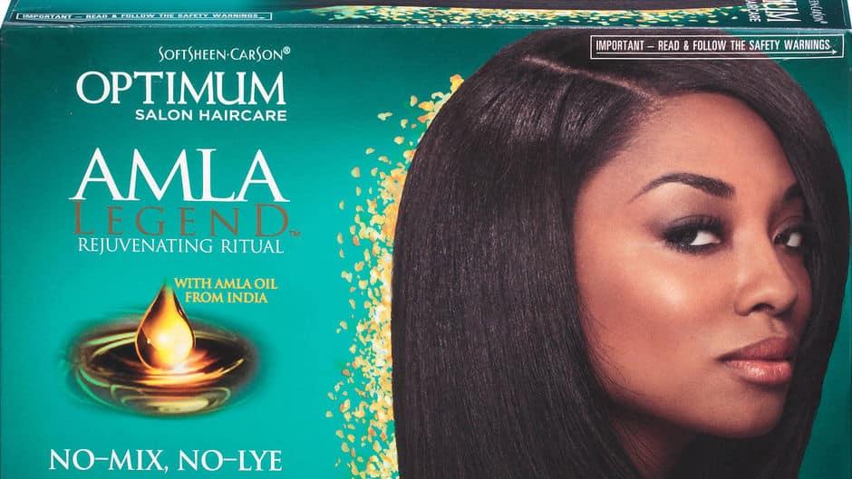 Le No-Lye est vendu par la marque de produits de beauté ethniques Softsheen-Carson