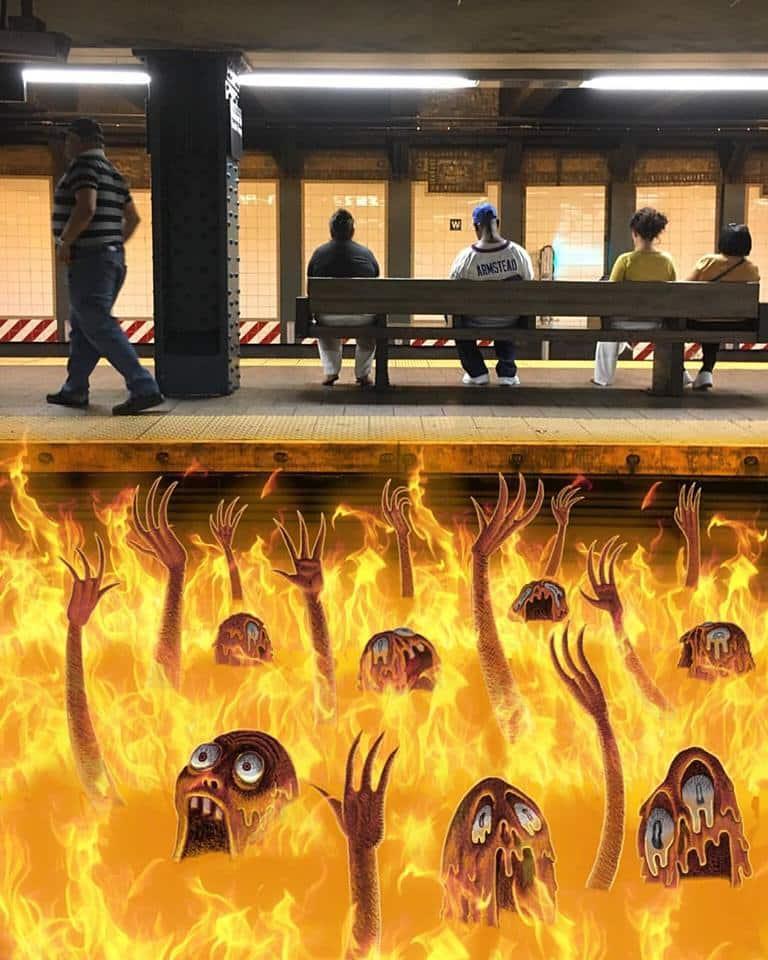 monstres metro 14