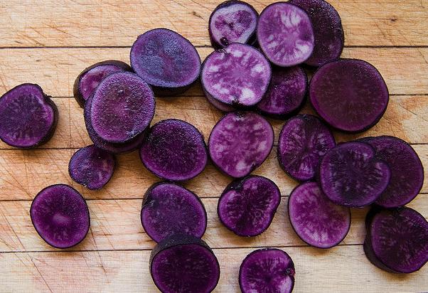 patates violettes