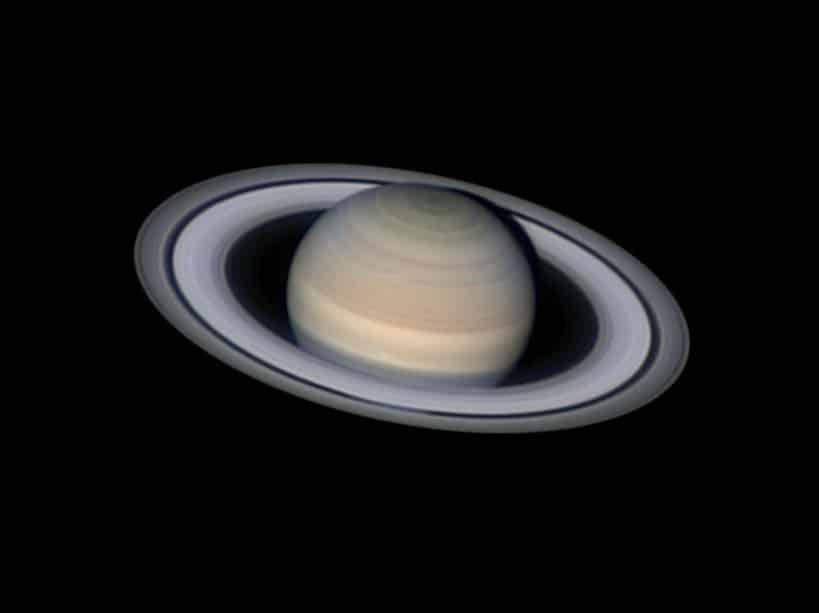 Serene Saturn © Damian Peach (UK)