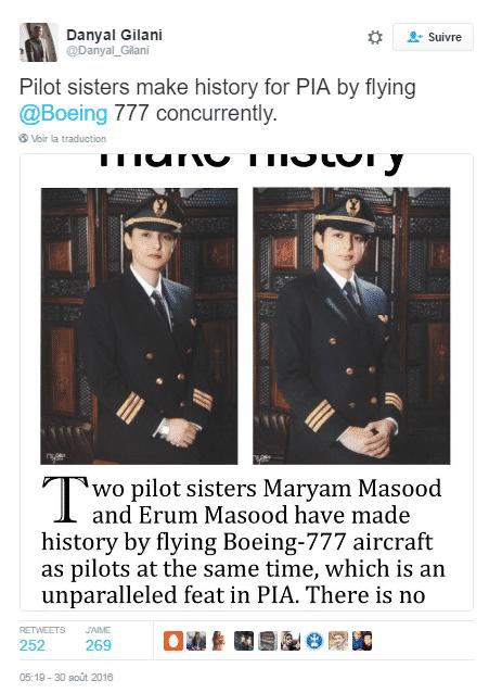 pilotes pakistan