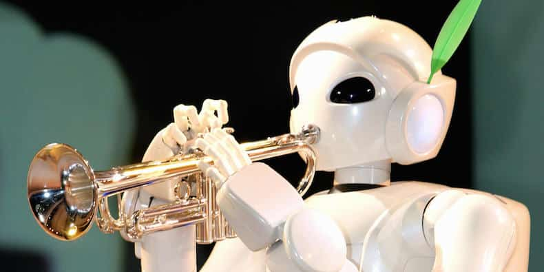 robot chanson