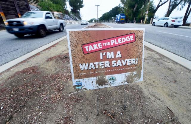 La sécheresse est un problème crucial en Californie - AFP