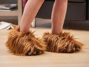 chaussons-chewbacca