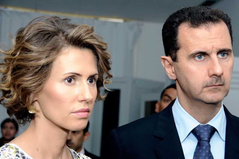 Le couple Al-Assad