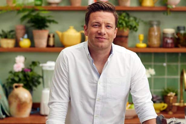 Le chef cuisinier Jamie Oliver