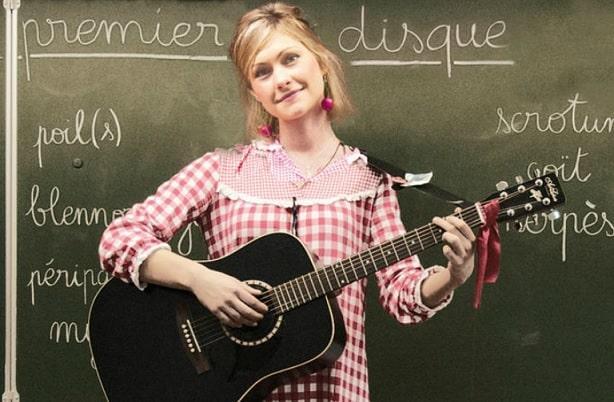 la chanteuse GiedRé