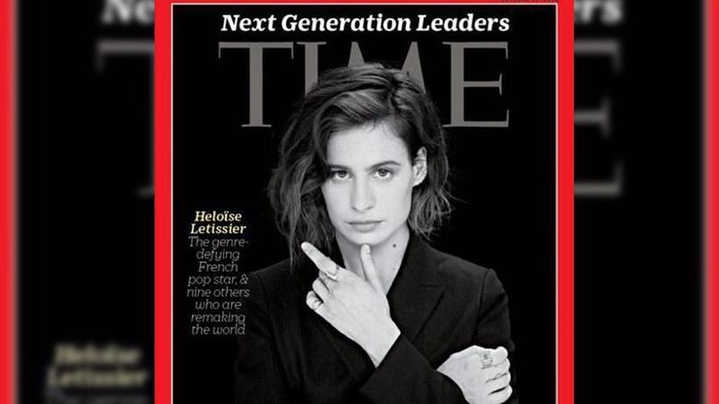 La chanteuse a fait la une de l'incontournable et influent Time en octobre 2016.