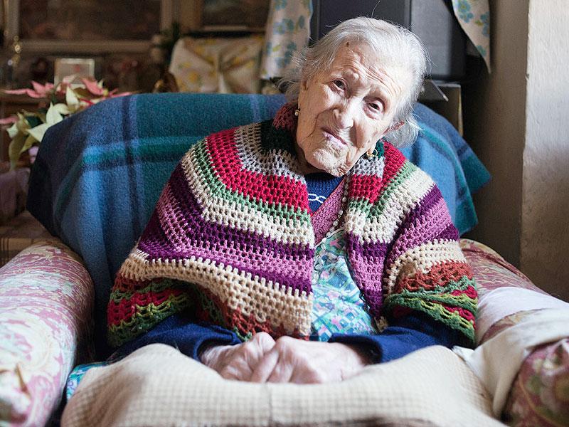 En Italie, Emma a fêté ses 117 ans