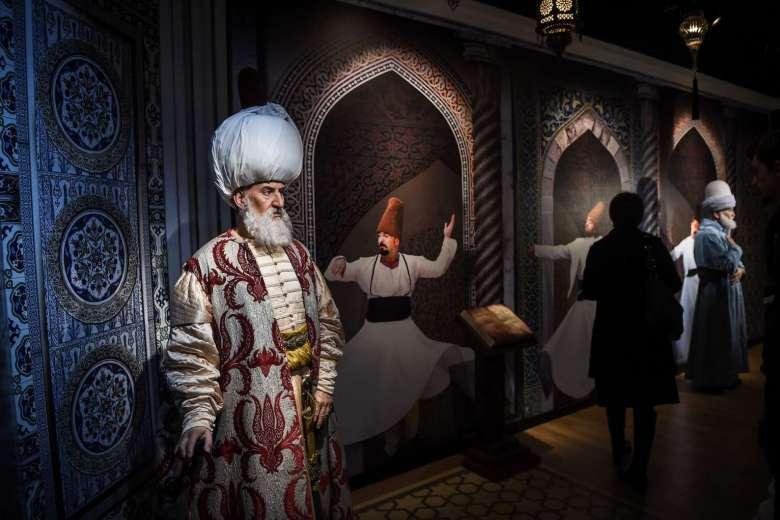 Les nostalgiques de la période ottomane pourront admirer l'intimidante doublure de Soliman le Magnifique. Photo AFP