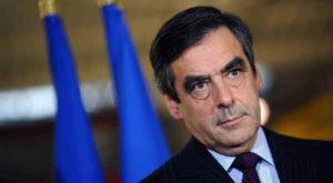 Le candidat de la droite française à l'élection présidentielle, François…